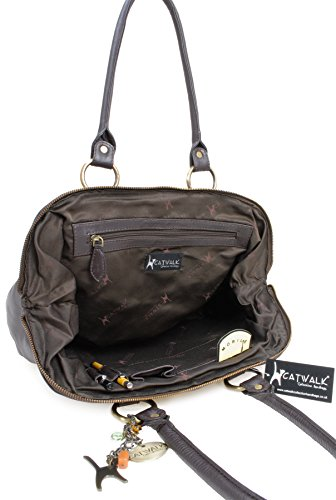 Signé Sac En Catwalk Collection Cuir Marron Docteur qq7wPAt