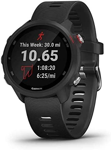 Garmin Forerunner 245 Music, GPS Running Smartwatch International Version, Black