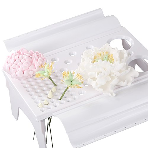 KALAIEN Gum Paste Flower Drying Rack Air Dry Stand Baking Tools Sugarcraft Fondant Flower Rack Cake Decorating Supplies by KALAIEN