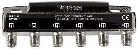 Televes 5153 - Repartidor 5 salidas