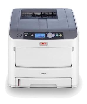 oki c610n a4 colour laser printer amazon co uk computers accessories rh amazon co uk C610 Toner Okidata C610dn