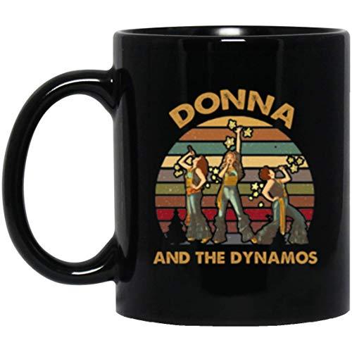 Donna And The Dynamos Mamma Mia Fan Vintage Mug