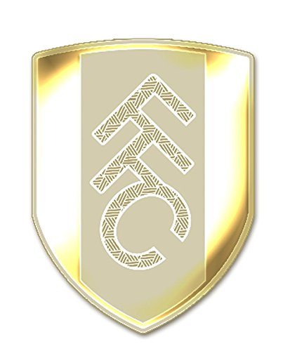 24k Gold Plated Fulham FC Emblem Cell Phone Sticker by kpopgood.com