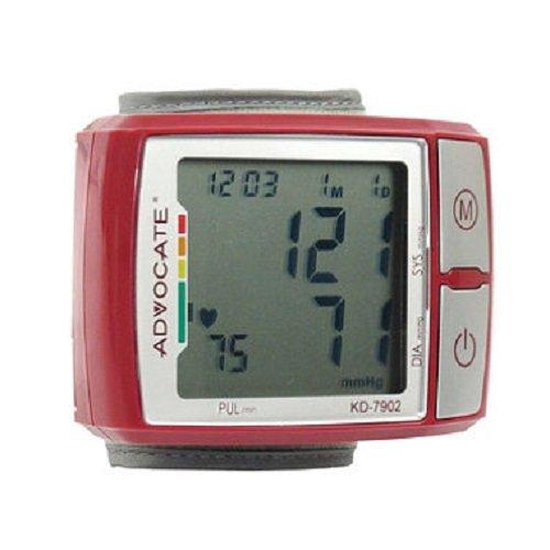 Q3IKD7902 - ADVOCATE KD-7902 Wrist Blood Pressure Monitor wi