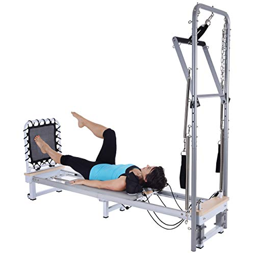 AeroPilates Precision Series Reformer 610 with Optional Cadillac (Reformer 610 with Cadillac)