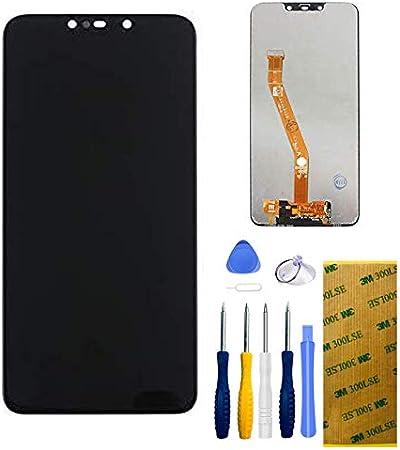 Xlhama Pantalla táctil LCD Compatible con Mate 20 Lite(Negro),Incluye ensamblaje de Repuesto con Herramientas, Adhesivo 3M y Protector de Pantalla
