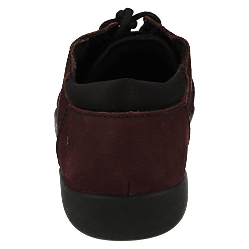 CLARKS 8 Clarks Bella Medora Shoe D 0 Womens Aubergine YrwqUY