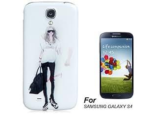 L&F - MOBEIKE Fashion Girl Print Plastic Shell for Samsung Galaxy S4/ I9500...