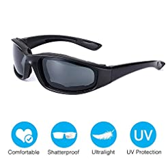 Amabest X7 Shooting Glasses with Foam Pa...
