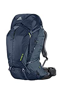 Gregory Mountain Products Men's Baltoro 75 Backpack, Navy Blue, Small