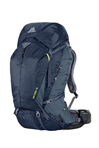 Gregory Mountain Products Baltoro 75 Liter Men's Multi Day Hiking Backpack | Backpacking, Camping, Travel | Rain Cover Included, Hydration Sleeve and Daypack Included, Durable Straps and Hipbelt | Premium Comfort on the Trail