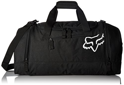 Fox Men's 180 Duffle Bag, Black (Best Racing Gear Bag)