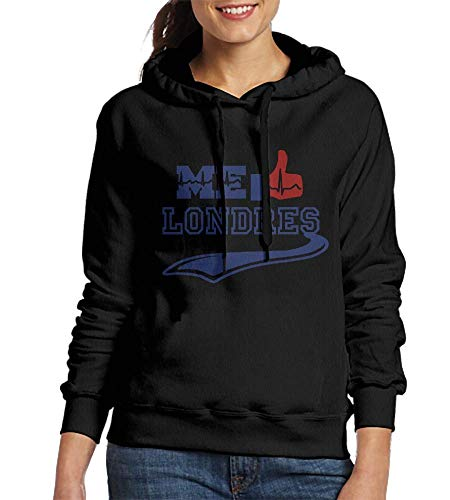 Londres Natural (HelloWorldA Sweatshirt Women Me Gusta Londres Customized Hoodies)