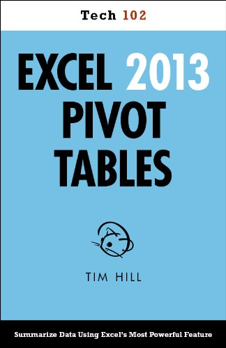 Download Excel 2013 Pivot Tables (Tech 102) Pdf