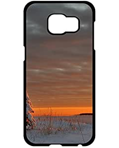 Lovers Gifts Ultra Slim Fit Hard Case Cover Winter snow sunset Samsung Galaxy S6 Edge+ phone Case 8830110ZE638887059S6A