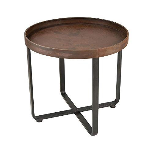 Sterling Home 351-10546 Copperhead Accent Table, Brown ()