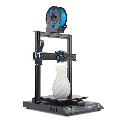 Artillery Sidewinder X1 Impresora 3D, 2020, el modelo más nuevo V4, ultra silencioso, celosía, vidrio, cama de calor, botón de reinicio, filamento, sensor de salida, recuperación de fallas, impresión 3D
