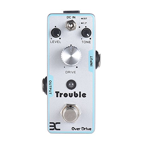 ammoon eno tc 16 overdrive guitar effect pedal true bypass trouble best wah pedal. Black Bedroom Furniture Sets. Home Design Ideas
