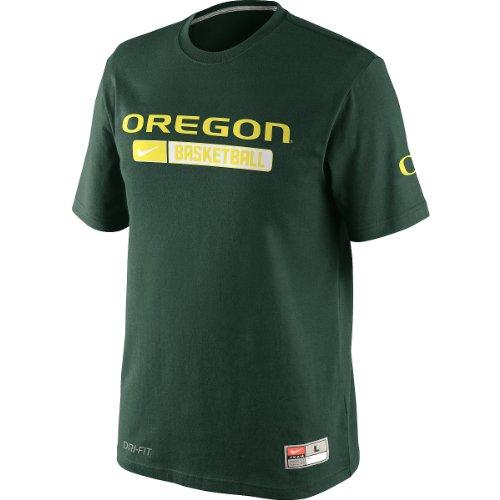 (Nike Oregon Ducks NCAA 2012 Basketball Team Issued Elite Practice T-Shirt - Green (Medium))