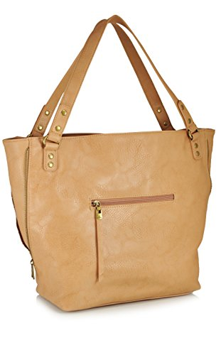 faa0bb775f15 BIG BUDDHA Barry Studded Tote,Camel,One Size - Buy Online in Oman ...
