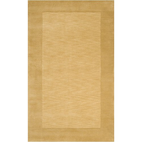Surya M-345 Mystique Area Rug, 6-Feet by 9-Feet, Sand