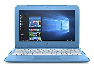 HP Stream 11-inch Laptop, Intel Celeron N4000 Processor, 4 GB RAM, 32 GB eMMC, Windows 10 S with Office 365 Personal for one Year (11-ah110nr, Blue)