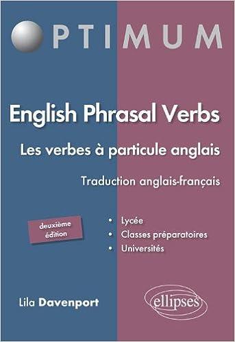 Amazon Fr English Phrasal Verbs Les Verbes A Particule