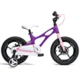 Space Shuttle Lilac 14 inch Magnesium Kid's Bicycle
