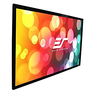 Elite Screens Sable Frame- Fixed Frame Projection Screen by ELIAA