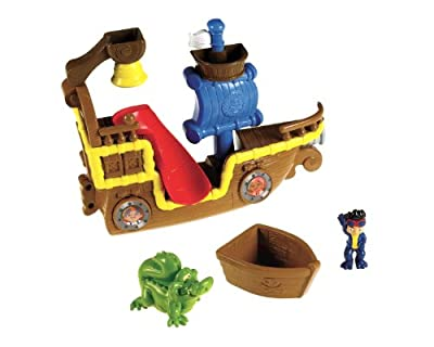 Fisher-price Disneys Jake And The Never Land Pirates Splashin Bucky Bath Item by Fisher-Price