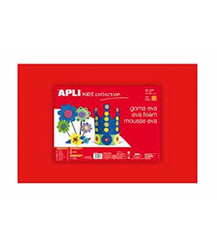 APLI schiuma EVA Rosso 400x 600x 2mm 1F Apli-Agipa