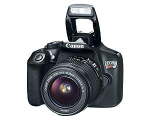 Canon EOS Rebel T6 DSLR Camera w/ EF-S 18-55mm Lens + Premium Accessory Bundle by Canon