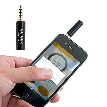 Denshine Smart reloj de la radiación Geiger counter nuclear Gamma rayos X para iOS Android: Amazon.es: Electrónica