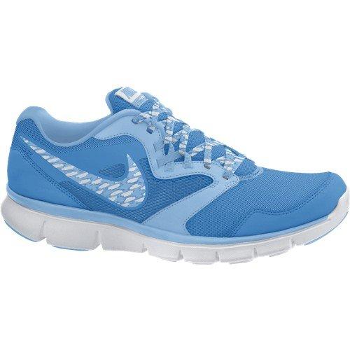 Nike W Flx Experience Rn 3 Msl Scarpe da Corsa, Blu/Bianco, 37.5
