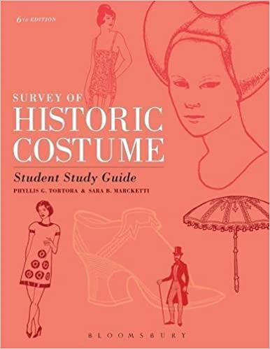 Book Survey of Historic Costume Student Study Guide by Phyllis G. Tortora (2015-03-12)