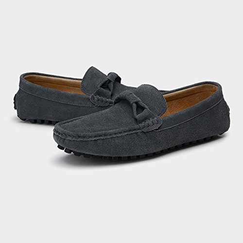 Shoes per Decor Dimensione on Slip Color Mocassini 9 Darkgray Mocassini guida Marrone Flat morbida suola in uomo da Mocassini MUS vera Business Penny Otprdirect Cravatta pelle Scarpe Fashion YSq1tt
