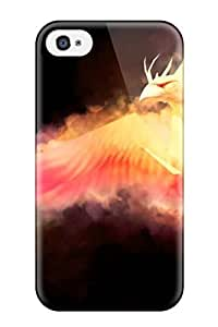 New Fashion Premium Tpu Case Cover For Iphone 4/4s - World Of Warcraft Blood Elf Warlock