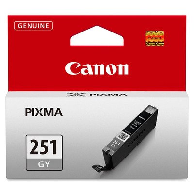 6514B001 CLI-251 Cyan Canon Consumer Printer Supply Ink