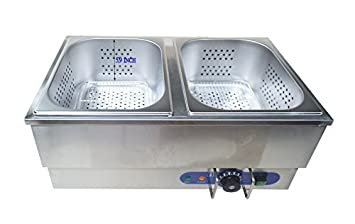 Amazon.com: 110V Commercial Hot Dog Steamer & Bun Warmer: Kitchen ...