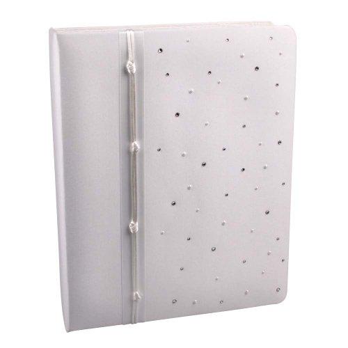 (Celebrity Collection, Wedding Memory Book, White)