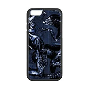 Alien Predator Cell Phone Protector for iPhone 6(4.7) Plastic and TPU (Laser Technology)