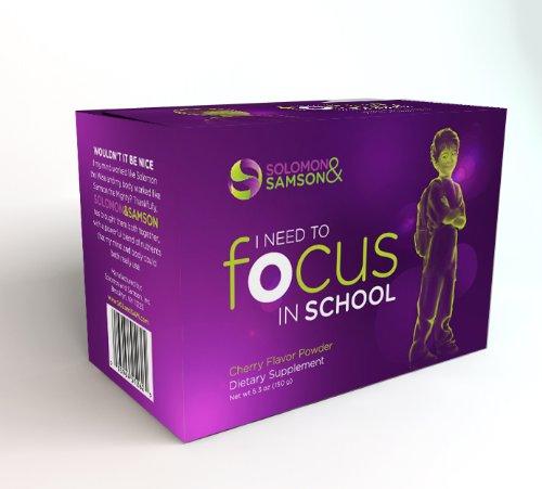 ADHD Vitamin Treatment Medication Alternative - Boost Attention & Focus - Cherry