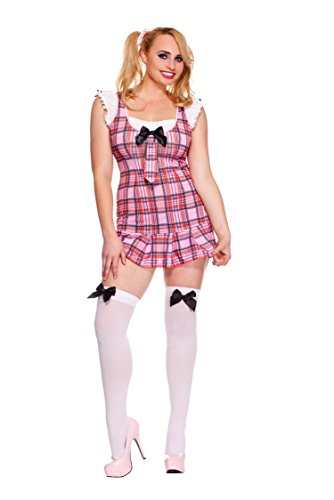 Rave Wonderland Women's Darling School Girl Plus Size 1X-2X