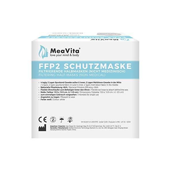 MeaVita-FFP2-Einweg-Mund-und-Nasenschutz-Einweg-Maske-KN95-Gummizug-40er