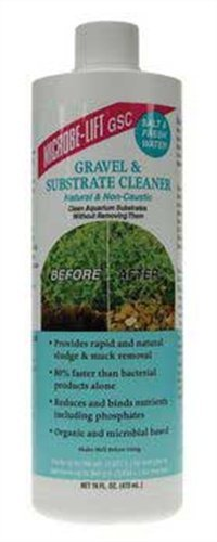 Microbe-Lift Gravel and Substrate Cleaner for Home Aquariums, 16-Ounce