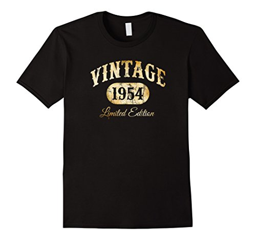 Mens Vintage 1954 T-Shirt Limited Edition 64th Birthday Gift 3XL (64th Limited Edition)