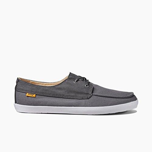 Reef Herren Deckhand Low Sneaker Gris (Charcoal / Grey)