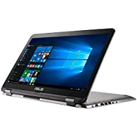 Asus VivoBook 15.6 Full HD Touchscreen 2 in 1 Laptop Computer, Intel 7th Gen i7-7500U 2.7Ghz CPU, 12GB DDR4 RAM, 256GB SSD + 1TB HDD, NVIDIA GeForce 940MX 2GB Graphics, HDMI, USB Type-C, Windows 10