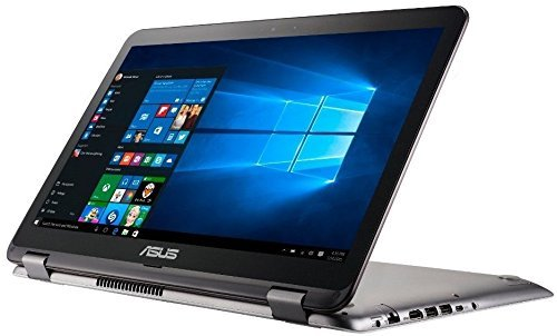 "Price comparison product image Asus VivoBook 15.6"" Full HD Touchscreen 2 in 1 Laptop Computer, Intel 7th Gen i7-7500U 2.7Ghz CPU, 12GB DDR4 RAM, 256GB SSD + 1TB HDD, NVIDIA GeForce 940MX 2GB Graphics, HDMI, USB Type-C, Windows 10"