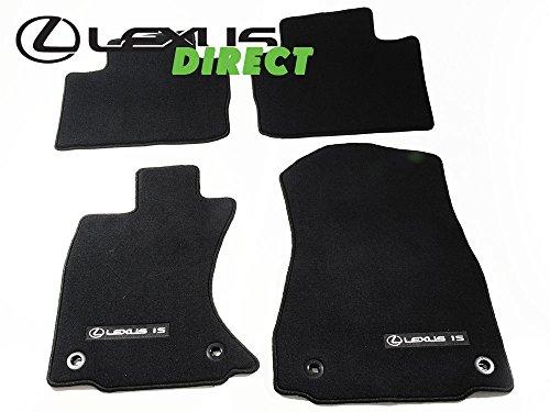 (Lexus Genuine Parts, OEM IS350 IS250 Black, Carpet Floor Mat 4-Piece Set, AWD, All-Wheel Drive Only)